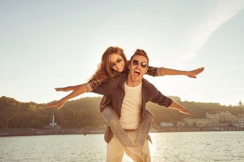 Et lykkeligt par