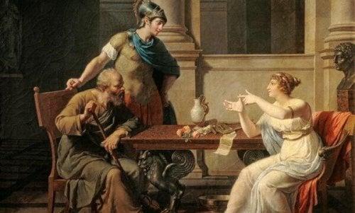 Sokrates og Xanthippe