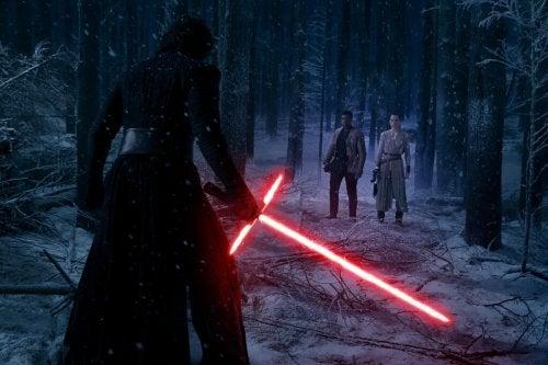 Kamp med lyssværd i Star Wars