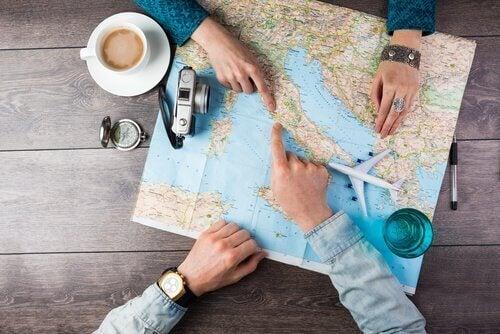 Utrættelige rejsende finder hele tiden nye destinationer