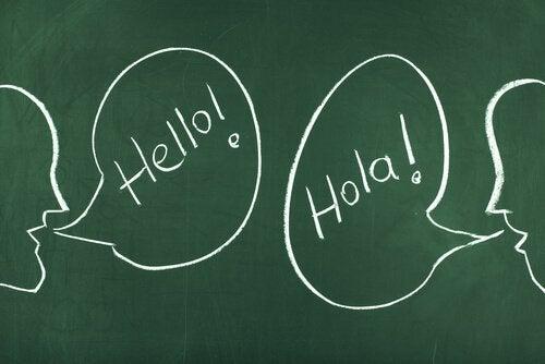 engelske og spanske ord