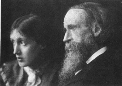 Virginia og hendes far