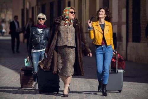 Tre kvinder i spansk tv-serie