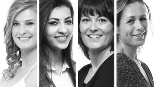 fire kvinder