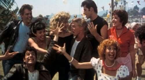 scene fra Grease