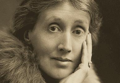 Portræt af Virginia Woolf