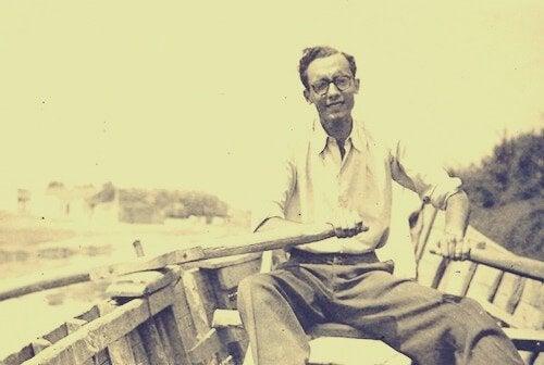 José Saramago i båd