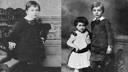 Et billede fra Einsteins barndom