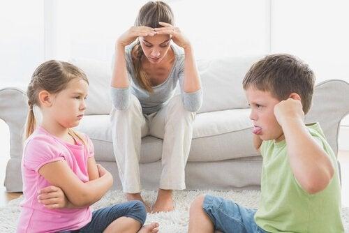 Børns adfærdsproblemer kan være frustrerende for forældrene