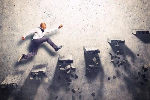 Mand i jagt over trapper er styret af motiv og motivation