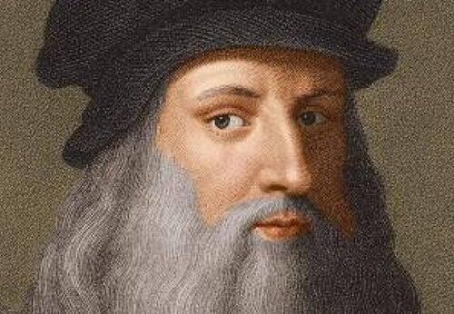 Selvportræt af Da Vinci