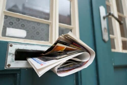 Aviser i brevsprække