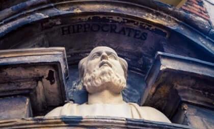 buste af Hippokrates