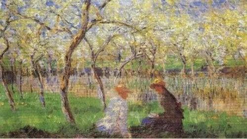 Maleri af Manet