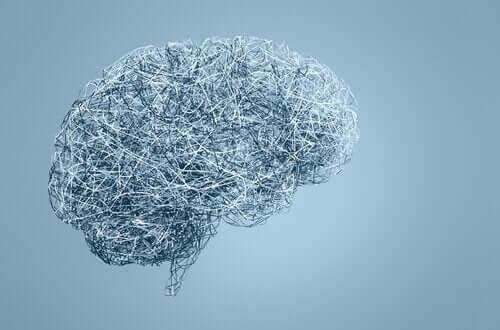 Hjerne lavet af ståltråd