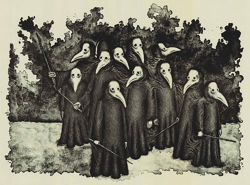 De bizarre dage med Den sorte død
