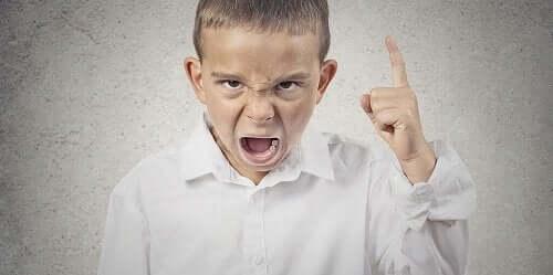 Barn der råber er et tegn på symmetri mellem forældre og børn