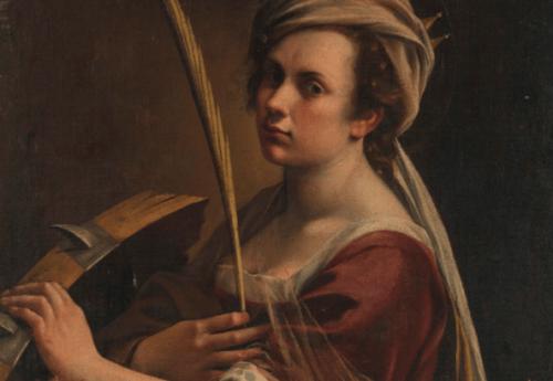 Det var svært at skelne mellem Gentileschis og hendes fars værker