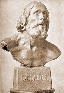 Statue af Daidalos