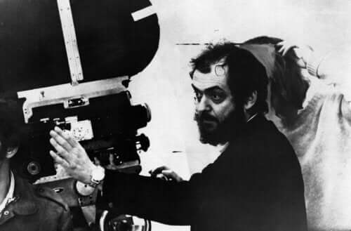 gammelt foto af Kubrick