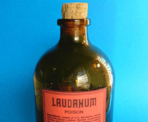 Laudanum flaske