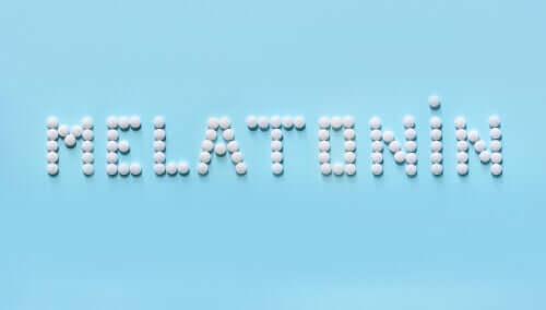 piller danner ordet melatonin