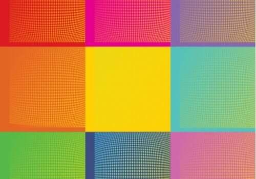 Et typisk eksempel på Warhols uendelige variation på et emne