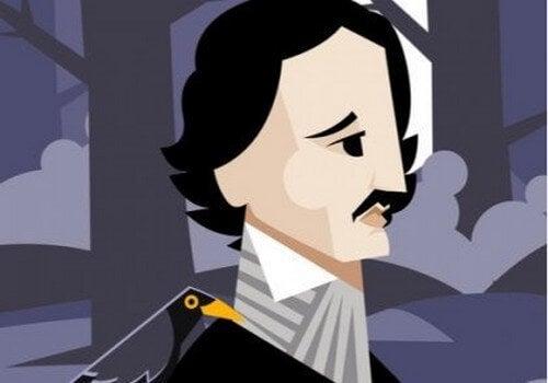 Tegning af Edgar Allan Poe