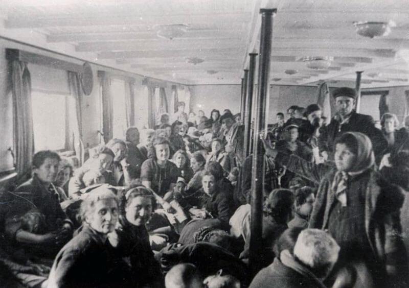 Rejsende under anden verdenskrig