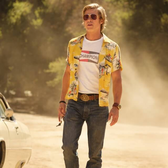 Brad Pitt i filmen, Onde Upon a Time in Hollywood
