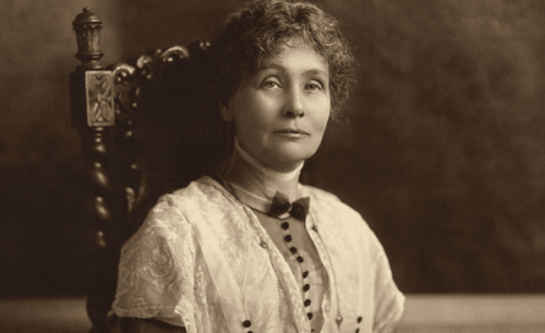 Emmeline Pankhurst og suffragetterne