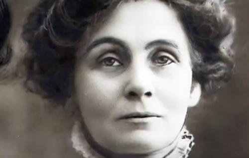 Foto af Emmeline Pankhurst