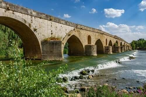 En bro nær Tordesillas