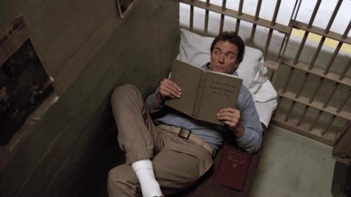 Frank Morris i sin fængselscelle