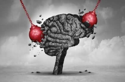 Nedbrydningskugler ødelægger al aktivitet i hjernen