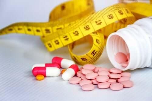 Vægtøgning forbundet med psykoaktive stoffer