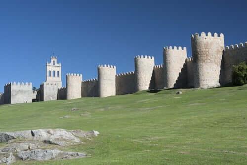 Murene i Ávila, det centrale spanien