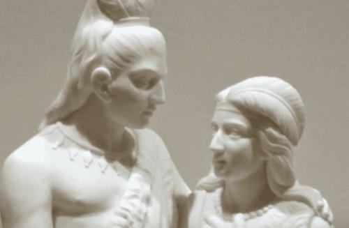 to skulpturer