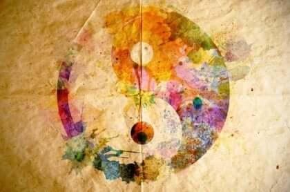 symbolet med yin og yang