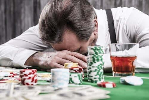 Patologiske gamblere - kognitive forvrængninger