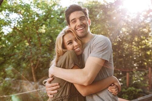 glad par, der krammer