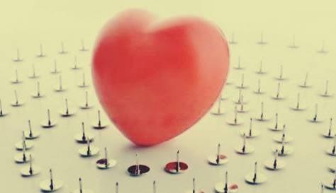 Hjerte på tegnestifter