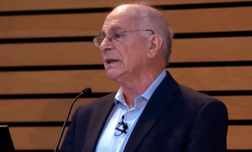 Kahneman, som Tversky arbejdede sammen med