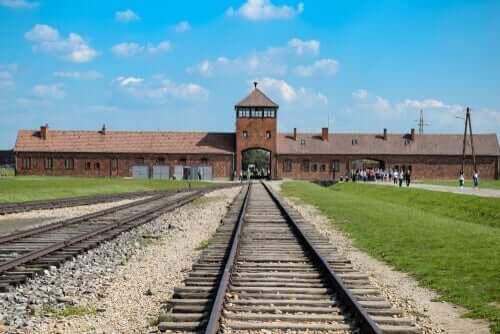 Auschwitz, hvor Chaim Ferster var