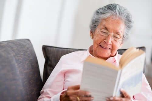 Min bedstemor - hun er som en psykolog