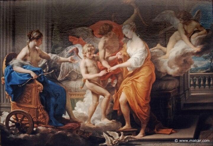 Maleri om myten om Eros