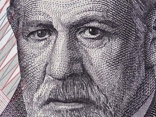 Kunstværk, der forestiller Sigmund Freud