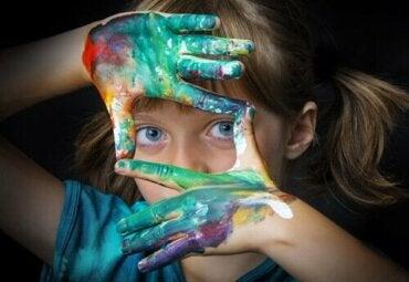 Fem øvelser med kunstterapi for børn