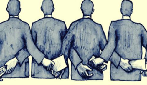 Korruption begynder med anonyme folk