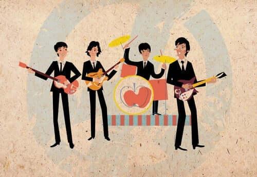 animation af band